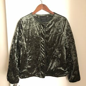 Sanctuary - Velvet Bomber Jacket